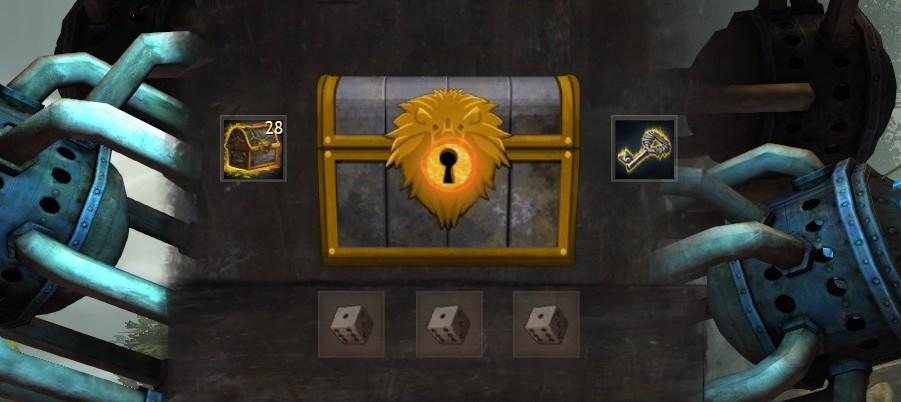 black lion chest drop rate data guild wars hub. Black Bedroom Furniture Sets. Home Design Ideas